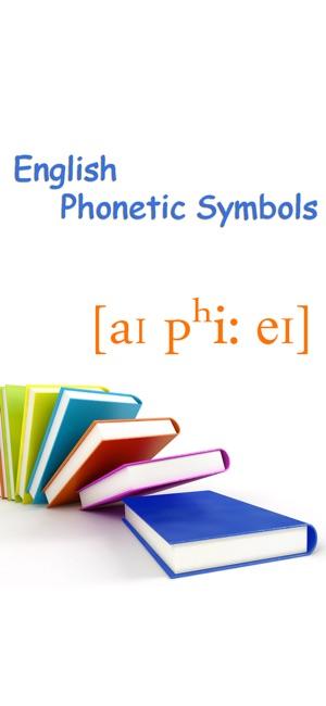 English Phonetic Symbols On The App Store