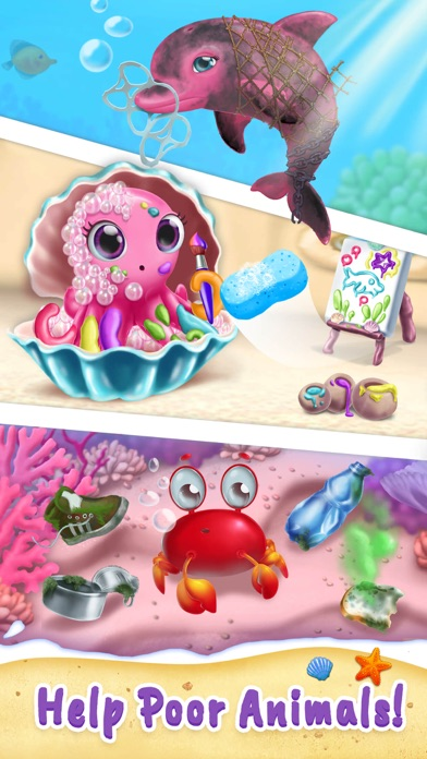 Sweet Baby Girl Mermaid Life screenshot 5