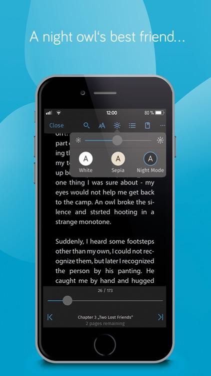 tolino reading app screenshot-4