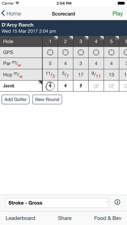 D'Arcy Ranch Golf Club screenshot-3