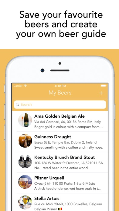 Beer - Your Own Beer Guide Screenshots