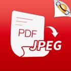 PDF to JPEG icon