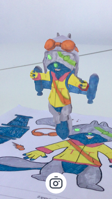 Zippy's 3D Colouring App