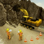 Highway Tunnel Construction 3D icon