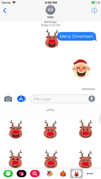Christmasmoji Sticker Pack