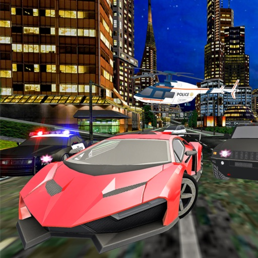 Police vs Gangster Escape: Car