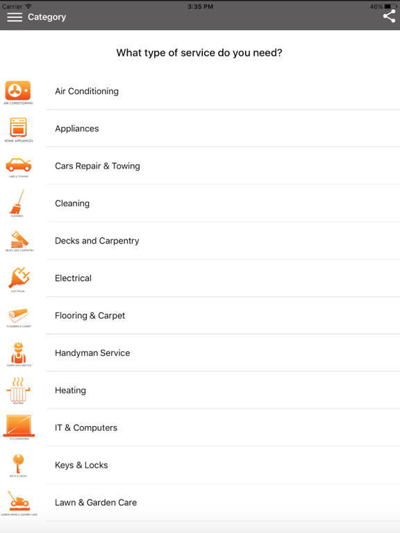 Bid&Fix - Hire local service screenshot