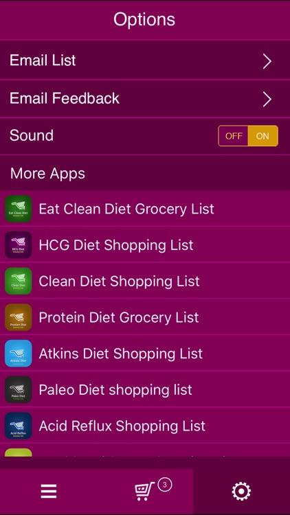 PCOS Diet Shopping List screenshot-4