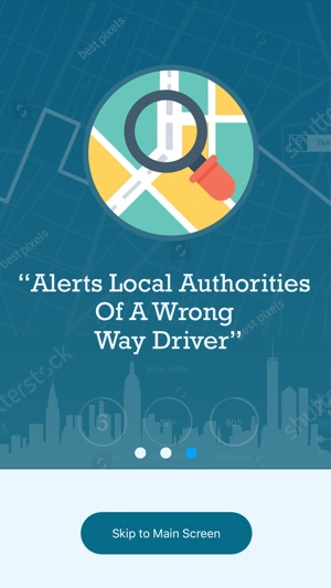 Wrong Way Driver Alert Detects Wrong-Way Driving And Assists Authorities Image