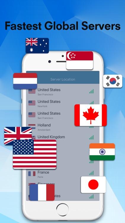 Flash VPN -Unlimited VPN Proxy screenshot-3