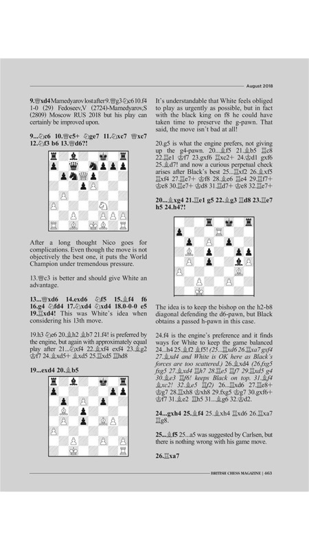 British Chess Magazine - Online Game Hack and Cheat