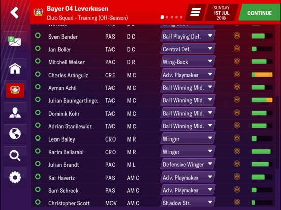 Football Manager 2019 Mobile screenshot #4