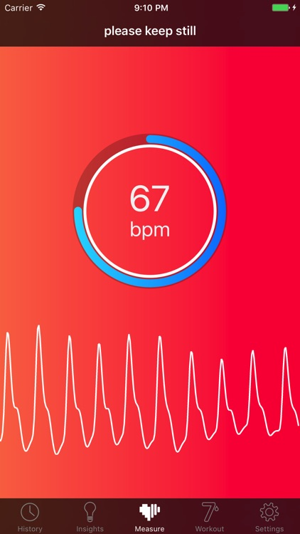 Cardiio - Heart Rate Monitor + 7 Minute Workout