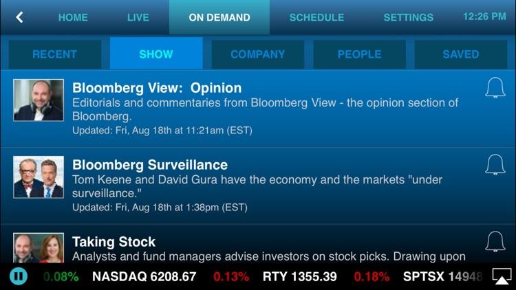 Bloomberg Radio+ screenshot-4