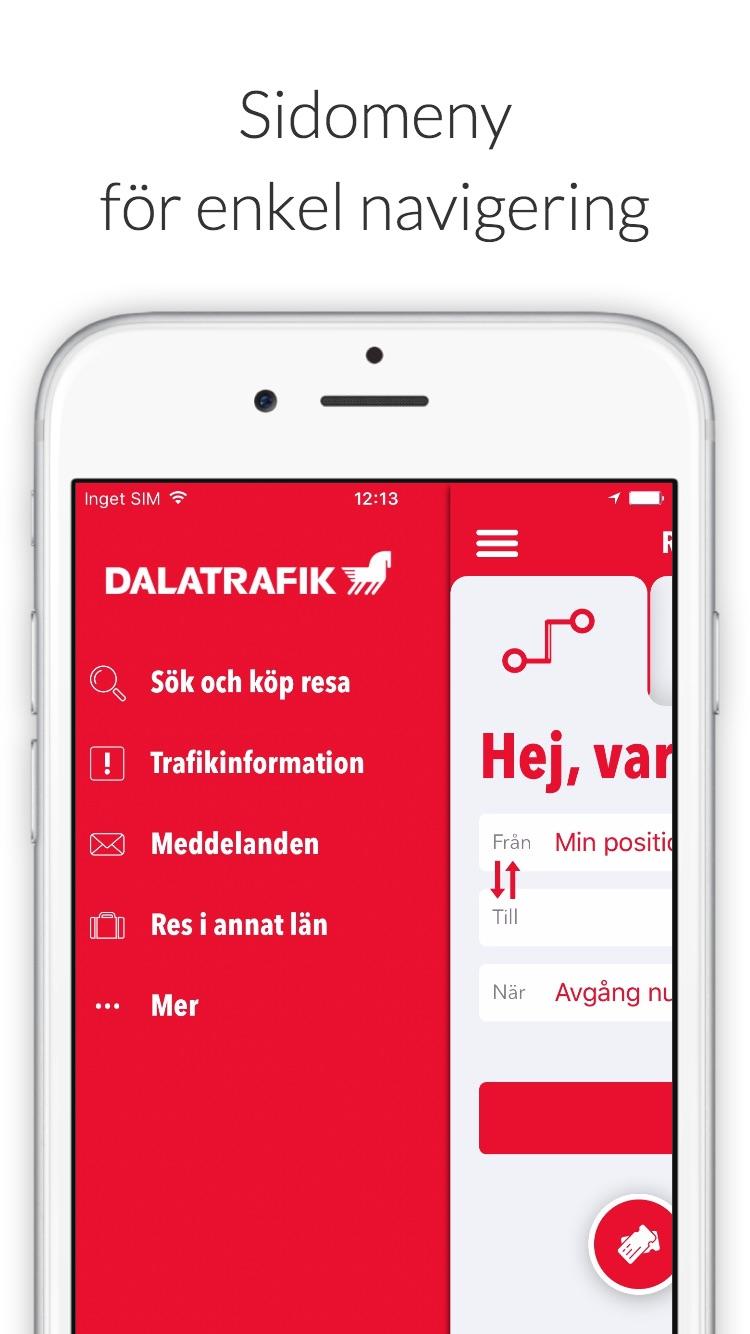Dalatrafik Screenshot