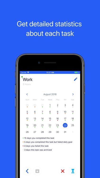 dailyq daily tasks tracker by andrei kotin