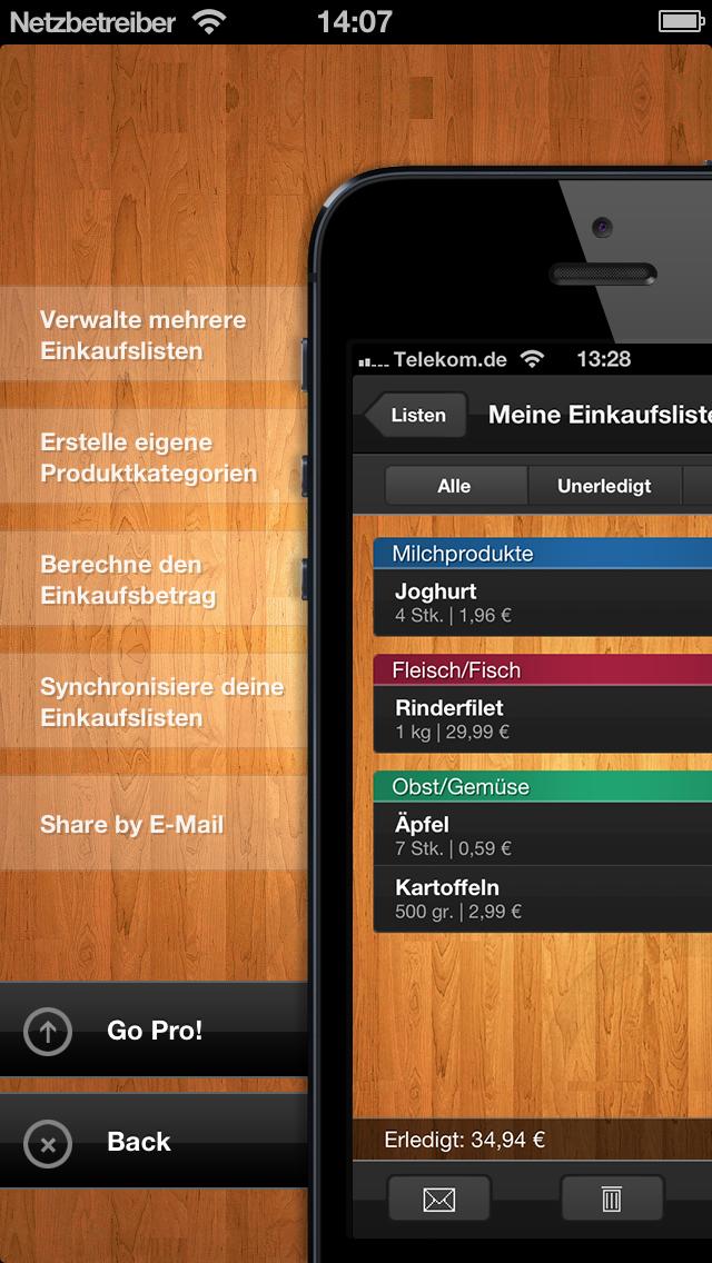 ShopList - EinkaufslisteScreenshot von 5