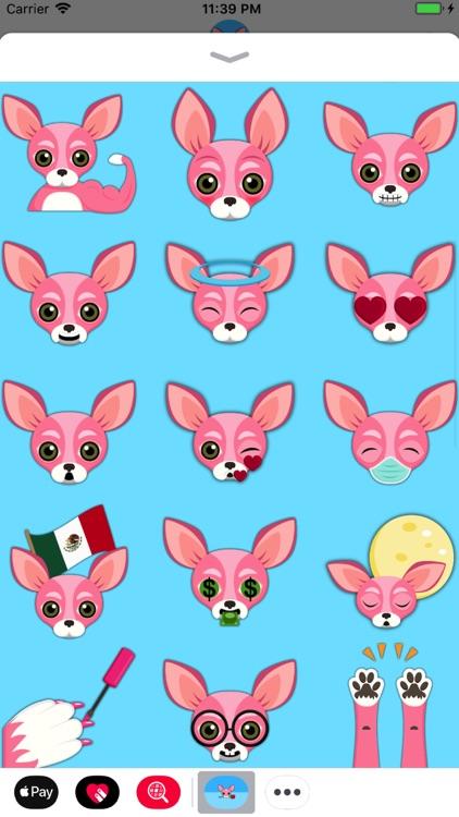 Pink Valentine's Chihuahua screenshot-3
