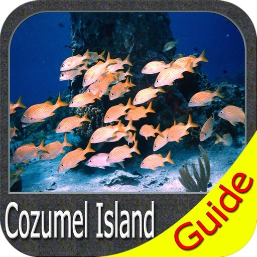 Cozumel Island charts GPS offline map Navigator
