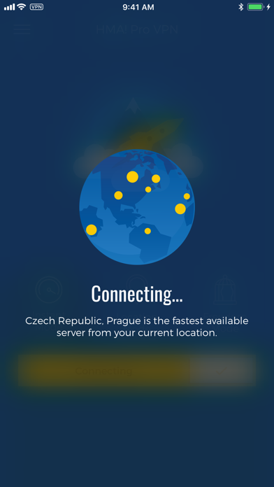 HMA! Hotspot VPN & Proxy – PRO Screenshot