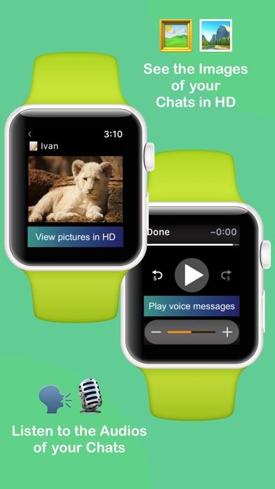 WatchMessenger for WhatsApp Screenshot 2