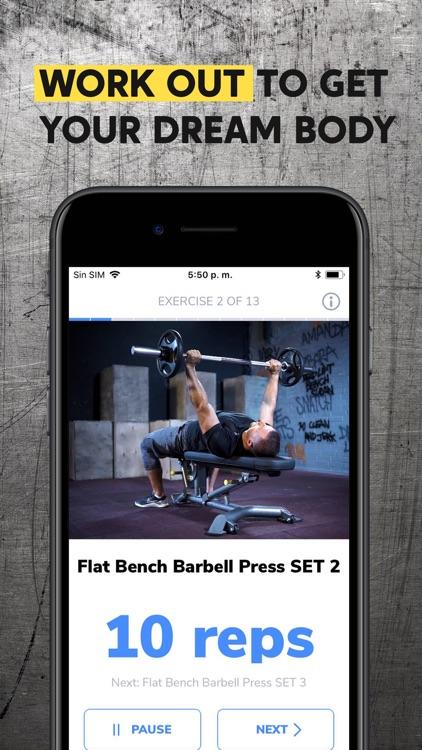 BetterMen: Workout Trainer screenshot-3
