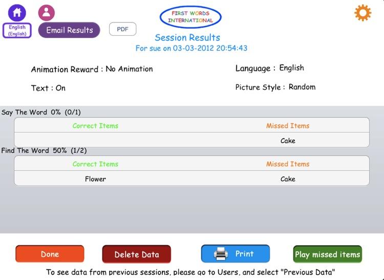 First Words Int. Home HD screenshot-4