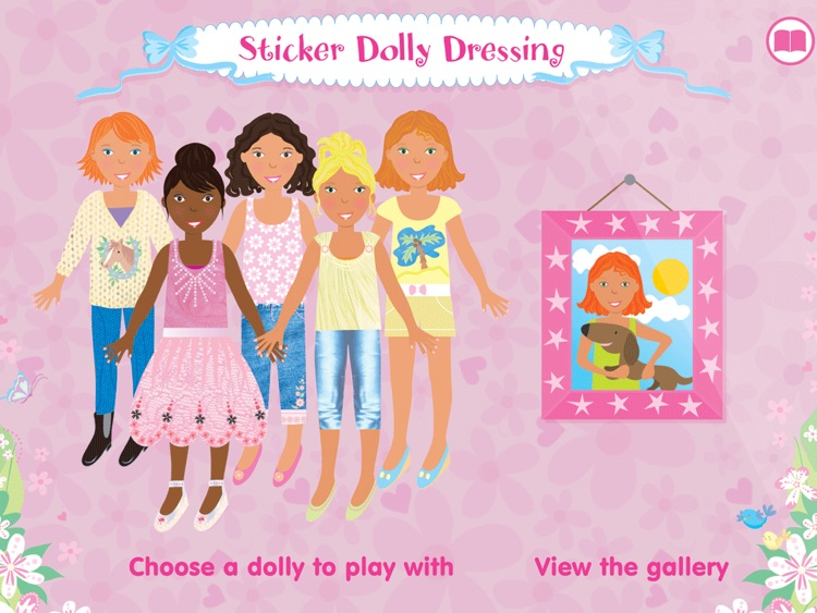 Usborne Sticker Dolly Dressing