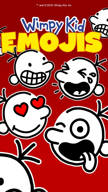 Wimpy Kid Emojis