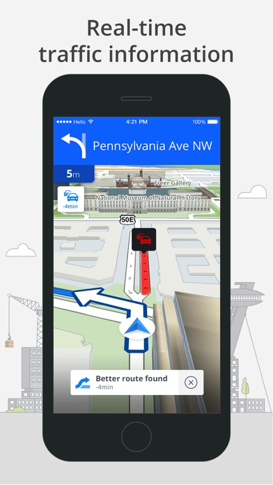 Screenshot for Sygic World: GPS Navigation in United States App Store