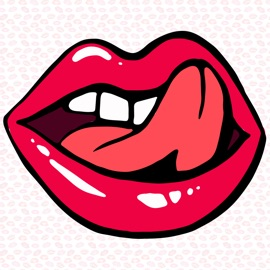 Lusty Lips : Stickers