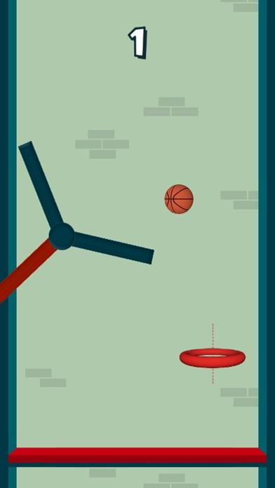 Dunk The Hoops - Bouncy Ball screenshot one
