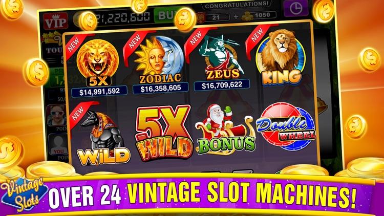 Vintage Slots Las Vegas Games screenshot-3