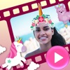 Unicorn Video Maker with Music