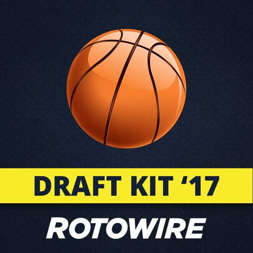 RotoWire Fantasy Basketball Draft Kit 2017
