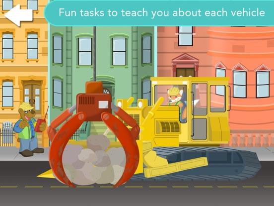 Big City Vehicles for Kids Screenshots