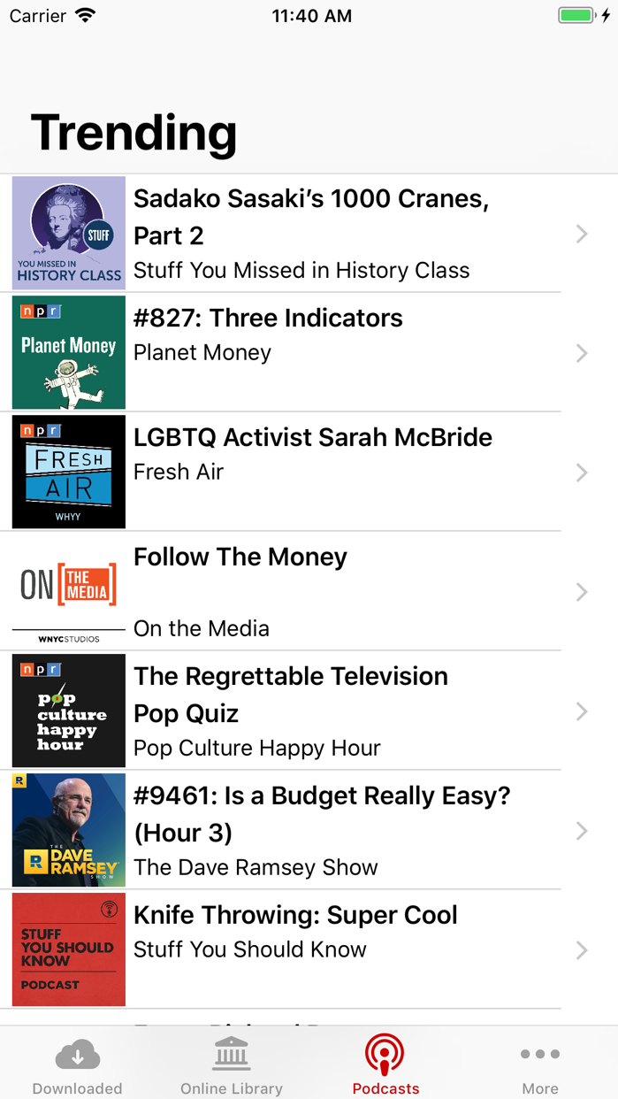 Audio Books Pro Screenshot