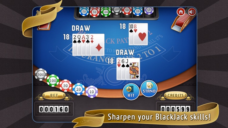 Blackjack 21: Casino Card Game