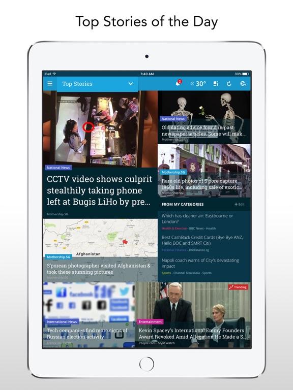 NewsLoop: News & lifestyle iPad