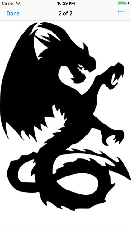 Dozens of Dragon Stickers screenshot-8