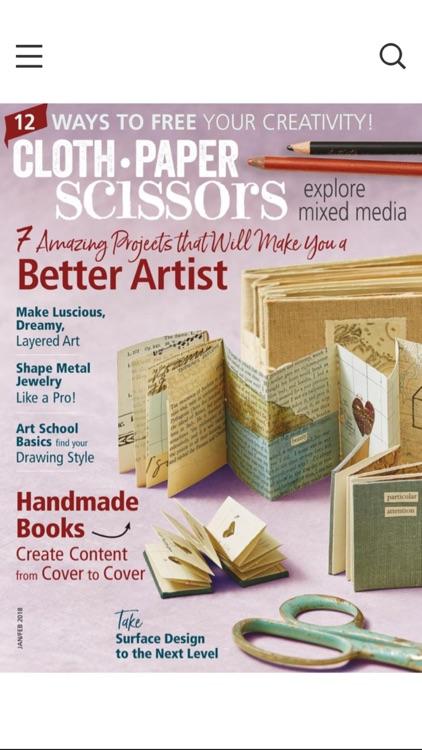 Cloth Paper Scissors Magazine