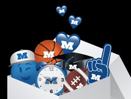 "The inaugural Millikin University ""MilliMoji"" sticker pack makes it easy to express yourself in emoji shorthand, enrich conversations, and Back the Big Blue"