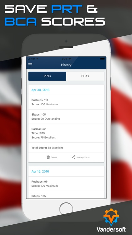 Navy PRT Calculator - US Navy PFA Calculator & BCA screenshot-3
