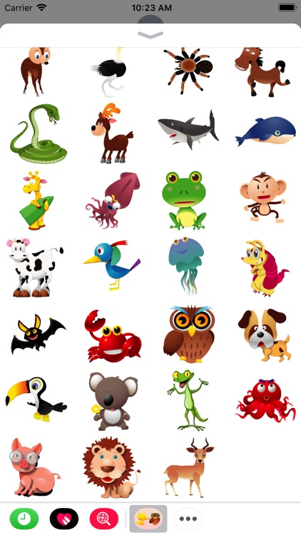 Cute Zoo - Animated Stickers