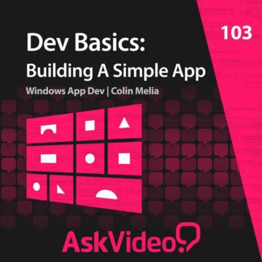 Creating Your First App 103