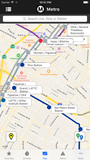 California Subway Map.Go Metro Lacmta Official App On The App Store