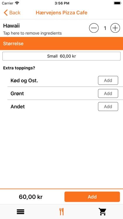 Hærvejens Pizza Cafe, Rødekro screenshot-4