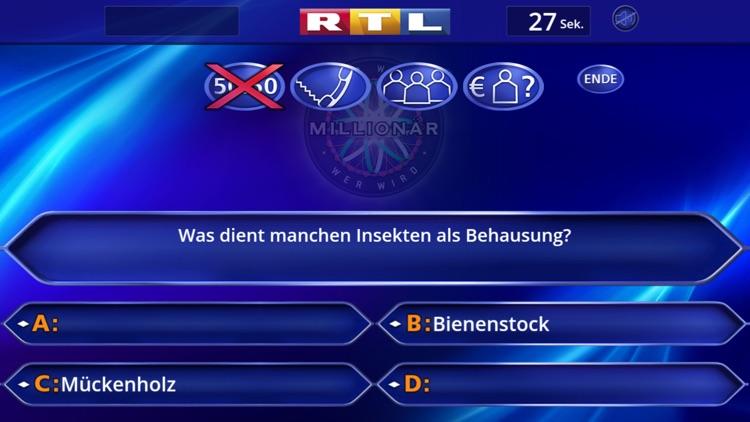 Wer wird Millionär? Training screenshot-3