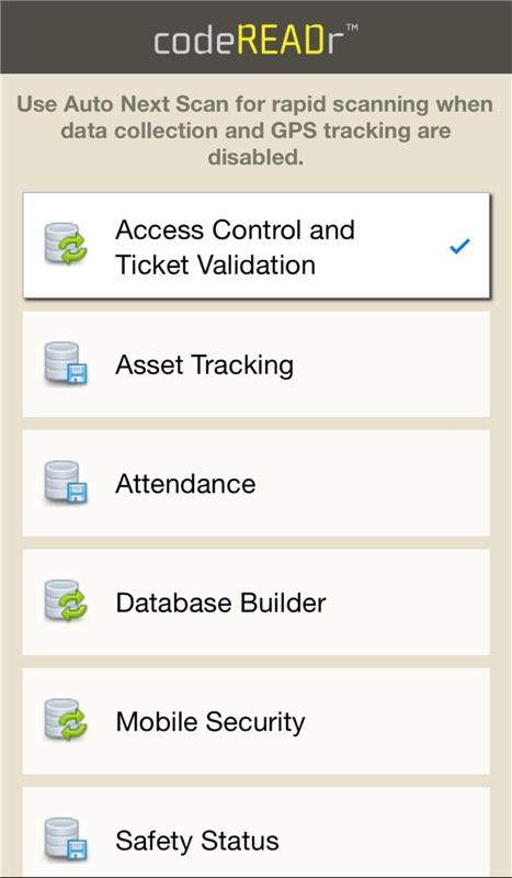 Barcode Database App