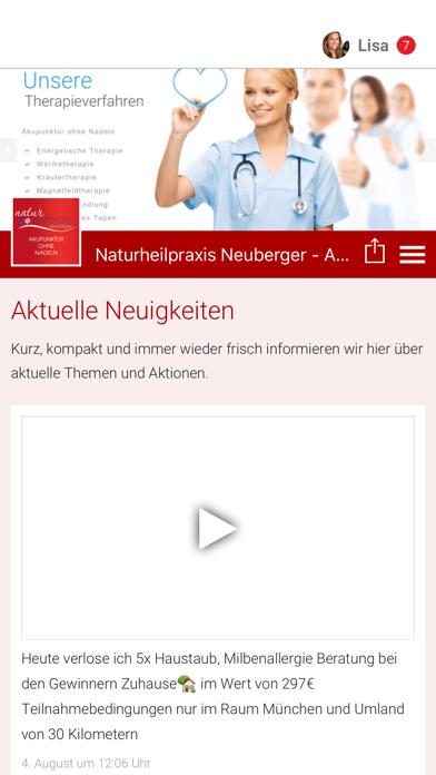 Naturheilpraxis Neuberger screenshot 1